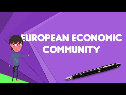 What is European Economic Community?, Explain European Economic Community