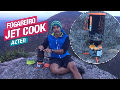 Vídeo - Kit Azteq Jet Cook Fogareiro + Panela