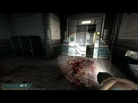 Doom 3 Walkthrough Part 5 HD - Level 3, Mars City