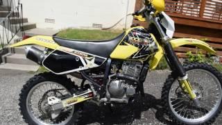 8. Suzuki DRZ250 2003 For Sale - Starting engine.