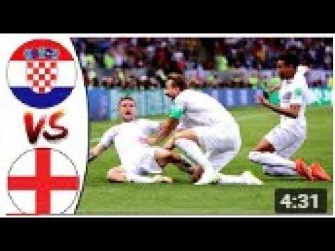 Croatia vs England 0 1   All Goals & Highlights RÉSUMÉ   10 07 2018 HD World Cup Rusia 2018   YouTub