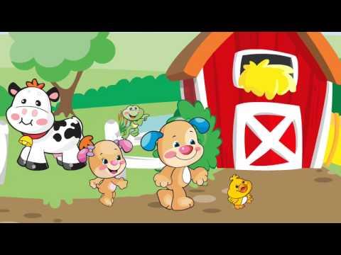 Kacagj és Fejlődj! Rajzfilmek kisbabáknak: Indulás a farmra