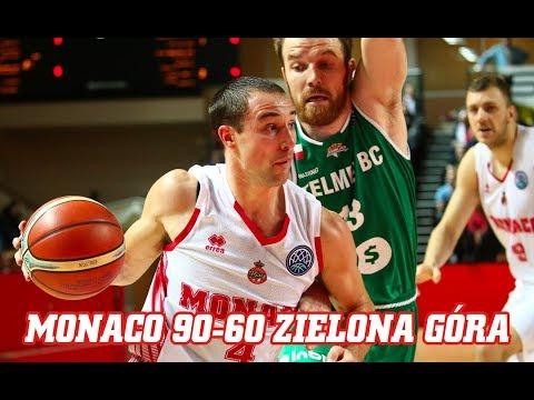 BCL — Monaco 90 - 60 Zielona Góra — Highlights