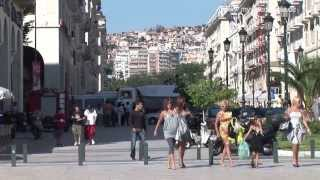 Thessaloniki Greece  city photo : Thessaloniki, Central Macedonia, Citywalk - Greece HD Travel Channel