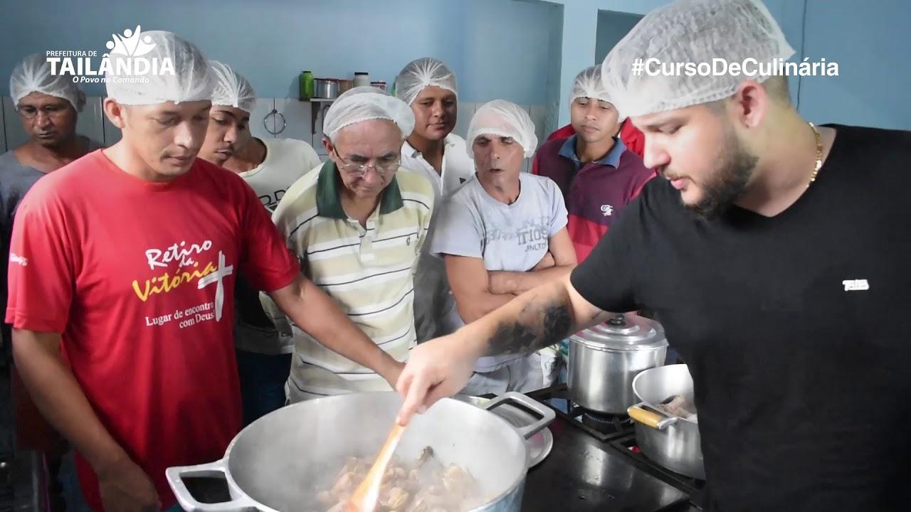 Curso de Culinária com Lauro – Prefeitura de Tailândia