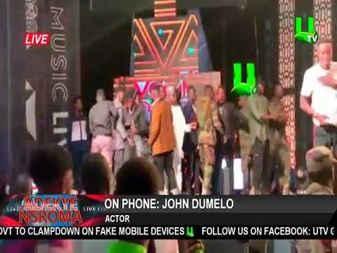 John Dumelo speaks on Shatta Wale, Stonebwoy fracas at VGMA