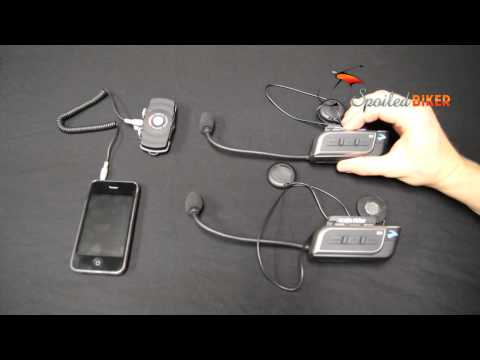 Sena Bluetooth - Sena SM10 Dual Music Transmitter: Bluetooth Stereo Hub. Find it online at http://www.spoiledbiker.com/sena-bluetooth-sm10.html Jon from Spoiled Biker shows u...
