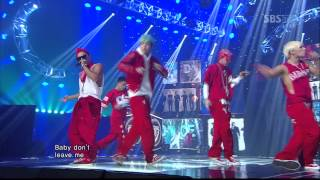 Video BIGBANG_0429_SBS Inkigayo_BAD BOY MP3, 3GP, MP4, WEBM, AVI, FLV Juli 2018