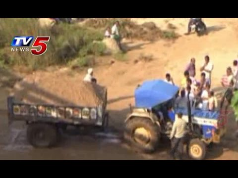 Srikakulam Sand Mafia : TV5 News