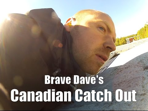 Brave Dave s Canadian Catch Out Freight Train Hopping In