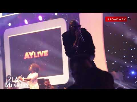 2face And Jaywon's Electrifying Perfomance At  Ay Live 2019