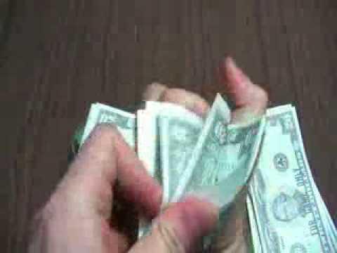¿Métodos para contar dinero?