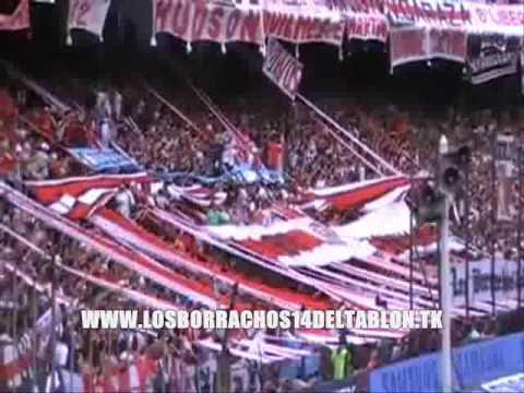 LOS BORRACHOS DEL TABLON 14 EN AVELLANEDA 2009 RIVER PLATE - Los Borrachos del Tablón - River Plate - Argentina - América del Sur