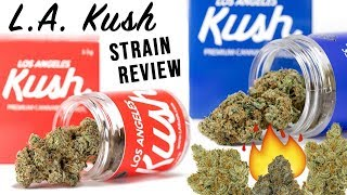 LA KUSH 🔥 Strain Review ⛽️⛽️⛽️ by The Cannabis Connoisseur Connection 420