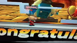 Noticed a small graphical glitch with Olimar.