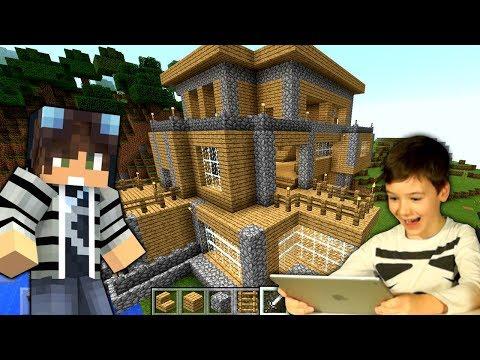ОГРОМНЫЙ ДОМ в МАЙНКРАФТ - Выживание #7 КокаПлей ЛетсПлей Minecraft PE - Видео для Детей