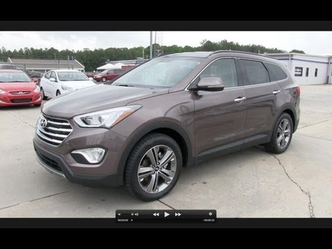 2013 Hyundai Santa Fe LWB Limited V6 Start Up, Exhaust, and In Depth Review