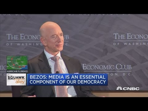 Jeff Bezos: Media is an essential component of our democracy