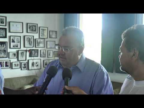 Vereador de Viçosa Valério Passos concede entrevista a Rádio Princesa FM e ao Portall Vale Agora Web