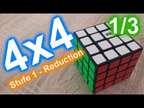 4x4 Zauberwürfel lösen | Center | Reduction | BoaToX