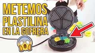 Video ¿PUEDES METER PLASTILINA EN LA GOFRERA? Lo probamos y... MP3, 3GP, MP4, WEBM, AVI, FLV Agustus 2018