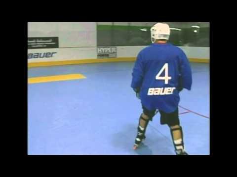 Roller Hockey, Backward Skating Drills