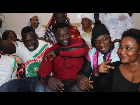 Intégralité réconciliation entre Ama Baldé et Boy Niang chez Eumeu Sène