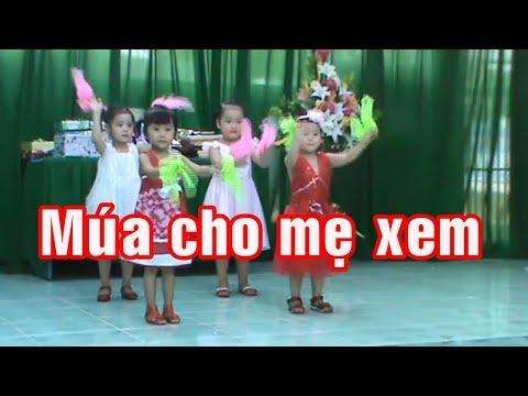 Tổng kết trường mầm non Hồng Vân 2012 – 15 – Múa cho mẹ xem