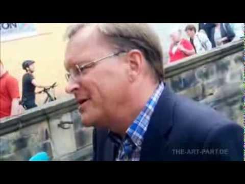Interview von Oberbürgermeister Andreas Starke am Tag des offenen Denkmals 2013