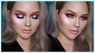 Video GIGI HADID Bold & Glowy Mermaid Makeup Tutorial MP3, 3GP, MP4, WEBM, AVI, FLV Desember 2018