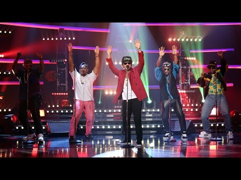 Mark Ronson & Bruno Mars Perform 'Uptown Funk'