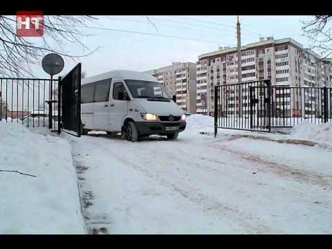 Губернатор Сергей Митин лично оценил ход и качество уборки Великого Новгорода от снега