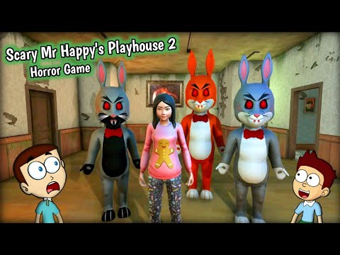 Scary Mr Happy's Playhouse 2 - Android Game | Shiva and Kanzo Gameplay