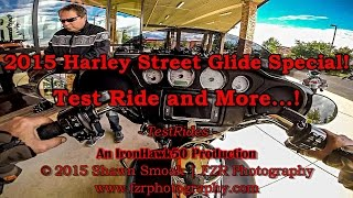 8. 2015 Harley Street Glide Special Test Ride! - And More! | RK | TestRides