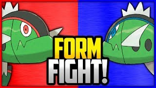Basculin: Red-Striped Form vs Blue-Striped Form | Pokémon Form Fight by Ace Trainer Liam