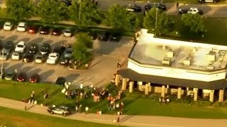 Armed bystander shoots, kills suspected gunman outside Oklahoma City restaurant, police say