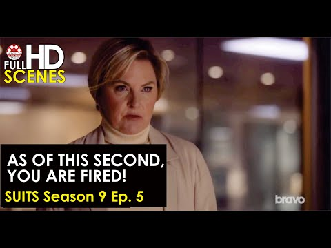 Suits Season 9 Ep. 5: As of this second, you are fired Full HD