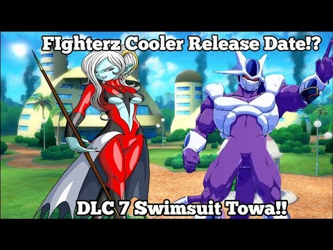 Xenoverse 2 DLC 7 Swimsuit Towa! Cooler Release Date For Dragon Ball FighterZ DLC 4! (видео)