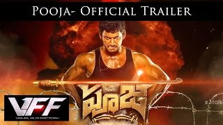 Nonton Pooja Official  Trailer   Telugu   Vishal Shruti Haasan   Hari   Yuvan Shankar Raja Film Subtitle Indonesia Streaming Movie Download