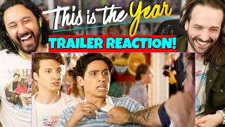 THIS IS THE YEAR | Official TRAILER - REACTION! (Selena Gomez, Gregg Sulkin, David Henrie) by The Reel Rejects
