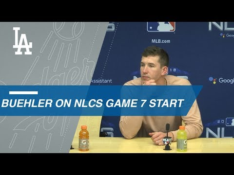 Video: NLCS Gm7: Walker Buehler discusses starting Game 7