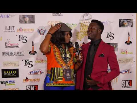 KSA HOUSTON CONCERT RED CARPET: MC AJELE