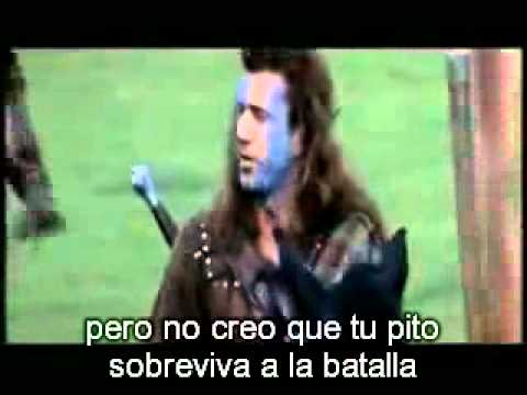 Pelicula william wallace corazon valiente videos Corazon valiente pelicula