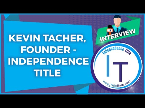 Kevin Tacher, Founder - Independence Title - Fort Lauderdale