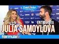 Eurovisión 2018: Julia Samoylova desvela si dudó que participaría en Lisboa
