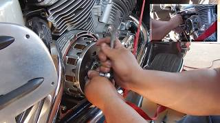 4. yamaha royal star venture clutch replacement