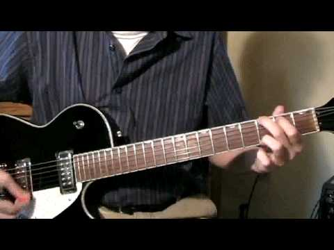 How To Play Long Cool Woman In A Black Dress By The Hollies Riff