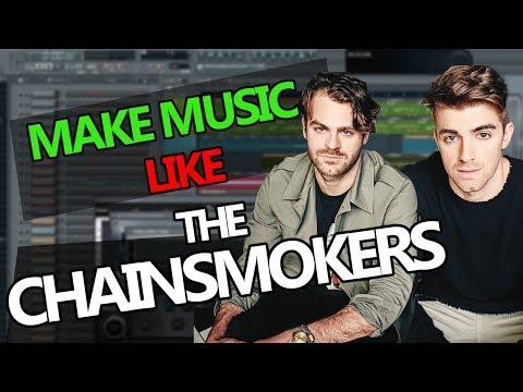 How to make music like The Chainsmokers - FL Studio Tutorial