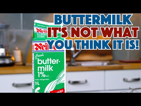 🔵 Truth About Buttermilk - What Is It? How To Substitute? || Glen & Friends Cooking