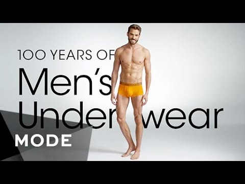 100 Years of Men s Underwear Fashion in 3 Minutes